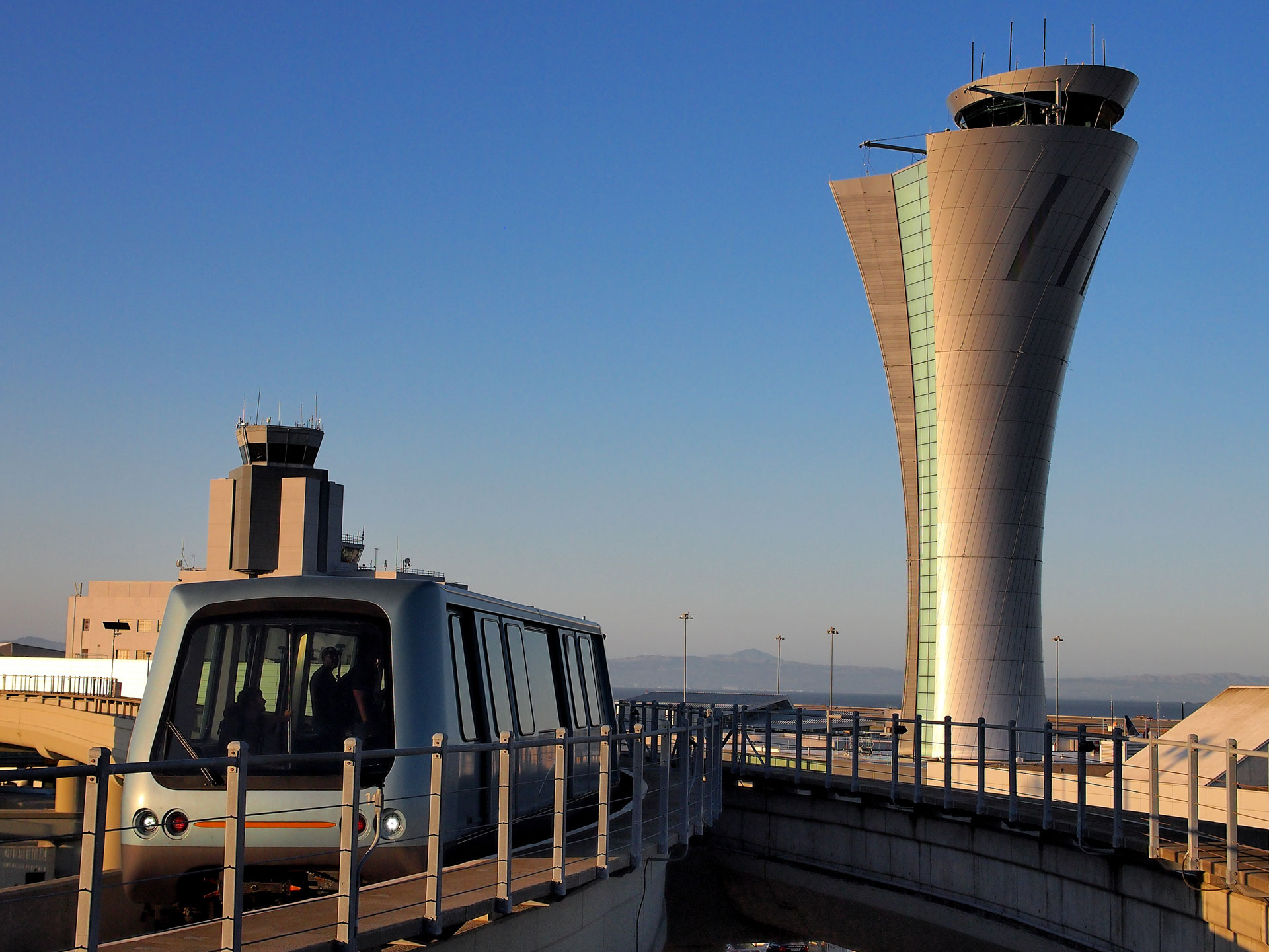 SFO New Airport Traffice Control Tower
